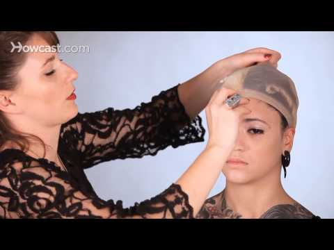 How to Prep Hair for a Wig, Part 2 | Special Effects Makeup Tutorial