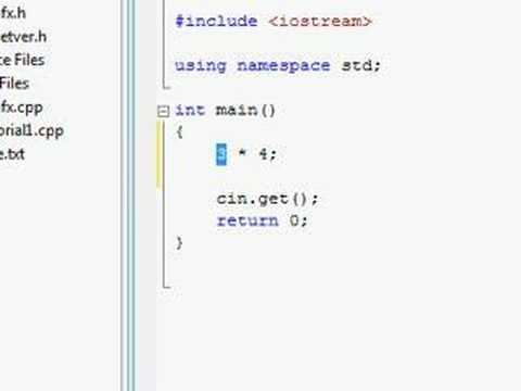 C++ Tutorial (10) - Absolute n00b spoonfeed