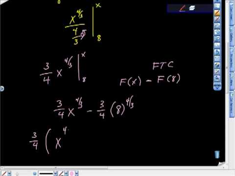 AP Calculus AB Demonstrating the Second Fundamental Theorem of Calculus