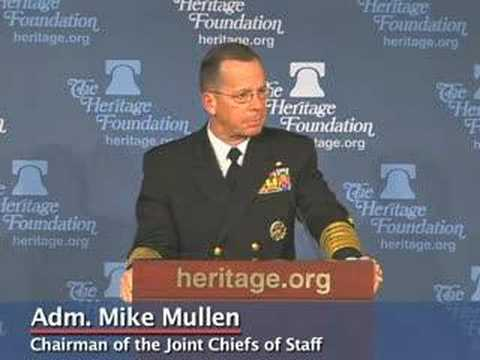 Adm. Mike Mullen on Spending 4% of GDP on Military