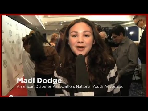 Live From the Red Carpet: Madi Dodge on Diabetes