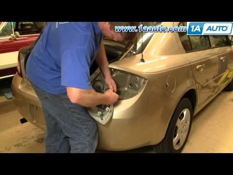 How To Install Replace Taillight Chevy Cobalt 05-10 1AAuto.com