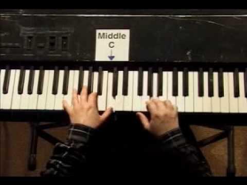 Piano Lesson - Kohler's Very Easiest Piano Studies #27