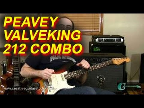 "GEAR REVIEWS: Peavey ValveKing ""All Tube"" 212 Combo Amp"
