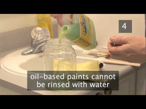 How To Clean Paint Brushes And Rollers After Painting