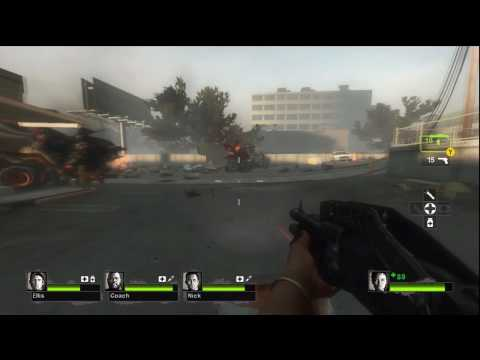 Left 4 Dead 2 Gameplay - 4 - End of the Streets