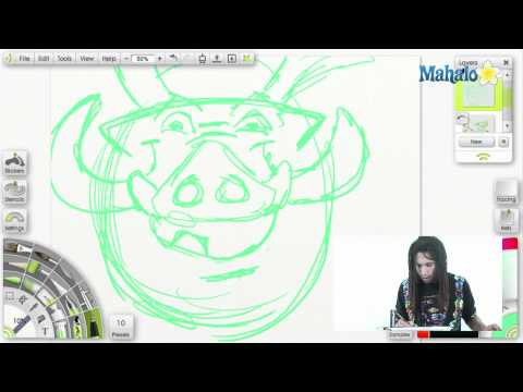 How to Draw!: Pumba Breakdown