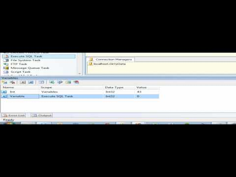Free Training - SSIS Variables and Expression