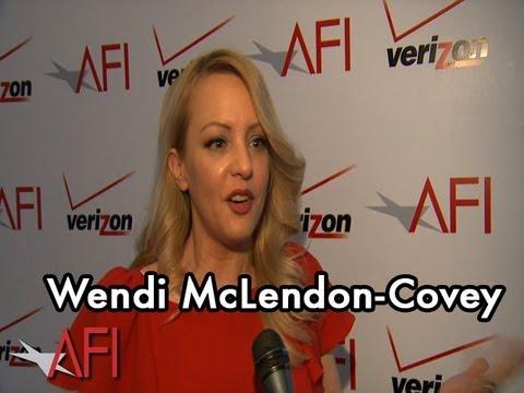 Actress Wendi McLendon-Covey on BRIDESMAIDS at the AFI Awards