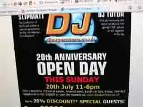 C U @ DJ Superstore, 20th July 2008