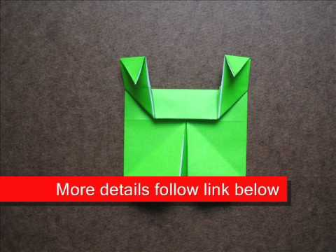 How to Fold Origami 3 Little Pigs - OrigamiInstruction.com