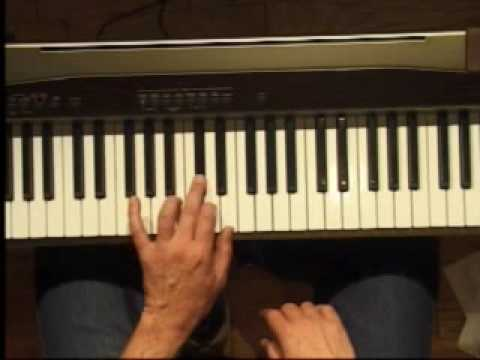 Piano Lesson - How to Play the A major scale (left hand)