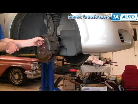 How to Install Replace Front Brakes Dodge Stratus 4 Door 01-06 1AAuto.com