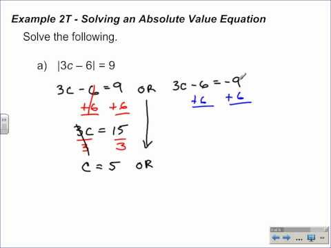4.6 al 1 part 1 Absolute Value Inequalities.wmv