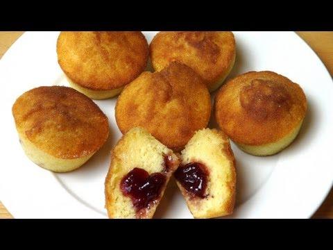 Jam Donut Cupcakes - RECIPE