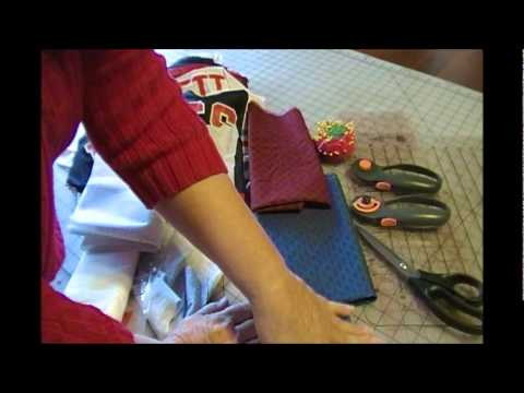 How to Make a T-Shirt Quilt: Part 1