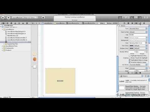 Learn Xcode 4 Tutorial iOS iPad iPhone 1.21 Object Orientation & Sizing