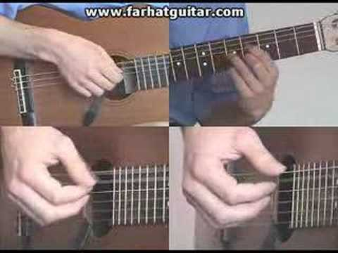 Right hand guitar exercise 9  - Clasical Guitar