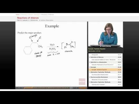 Organic Chemistry: Reactions of Alkenes