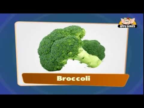 Flash cards for children - Vegetables