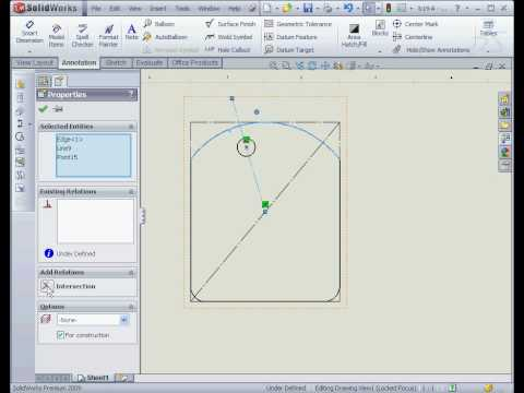 solidworks 2009 tutorial Drawing