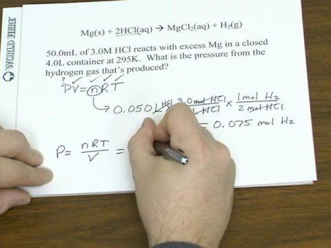 More Stoichiometry (Gas Law and Heat)