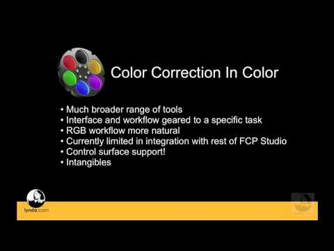 Color: Understanding the differences between Color and Final Cut Pro | lynda.com
