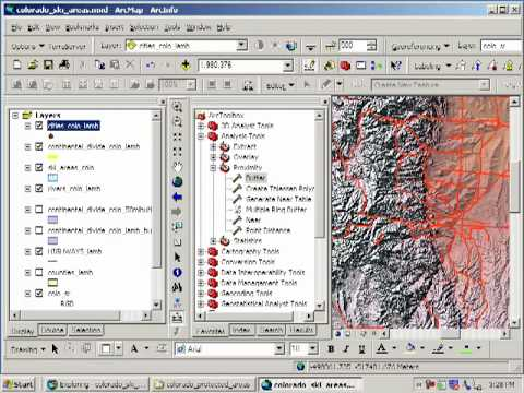 Siting a Ski Area in Colorado: Lesson Using Spatial Analysis and GIS: Chapter 7