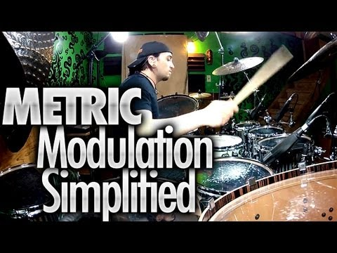 Metric Modulation Simplified - Drum Lessons