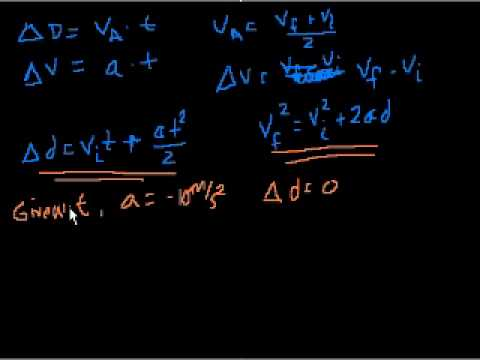 Projectile motion (part 5)