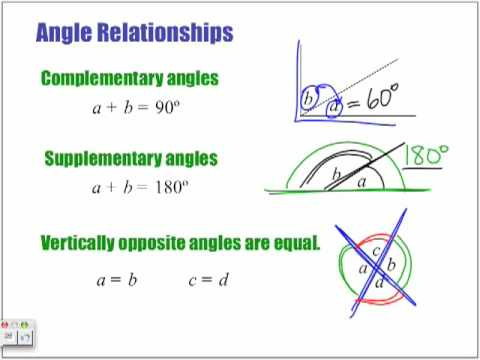 Trig 1: Angle Relationships - Part 1