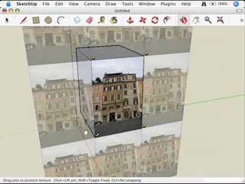 SketchUp: Moving, scaling, rotating and distorting textures