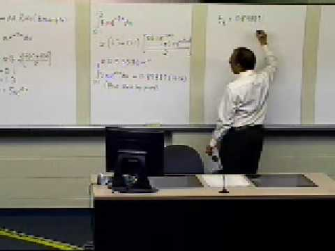 Trapezoidal Rule of Integration: Example