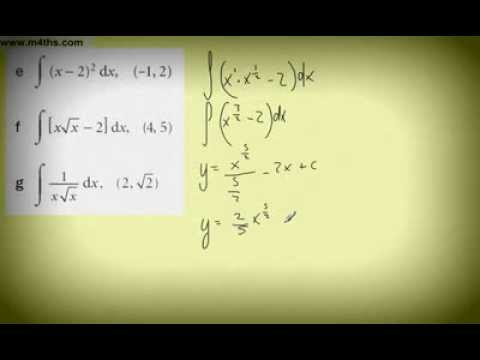 (14) Core 1 Messy Integration Examples 2