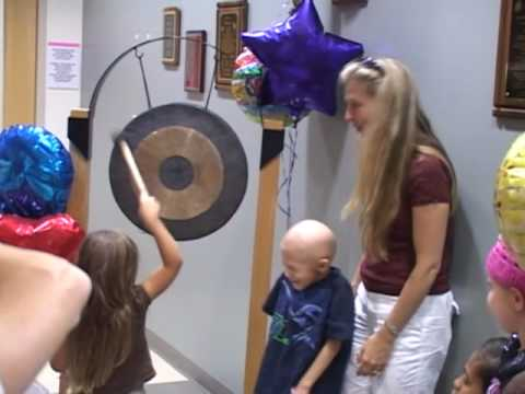 Children Proton Therapy Patients Bang The Gong