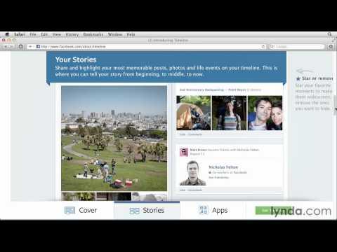 Facebook timeline: Upgrading and customization | lynda.com tutorial