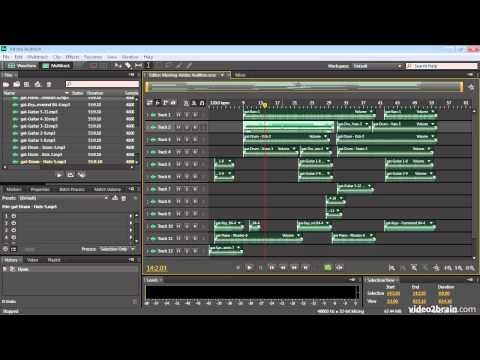 Meeting Adobe Audition