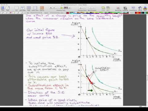 Microeconomics - 102: Substitution Effect and Income Effect