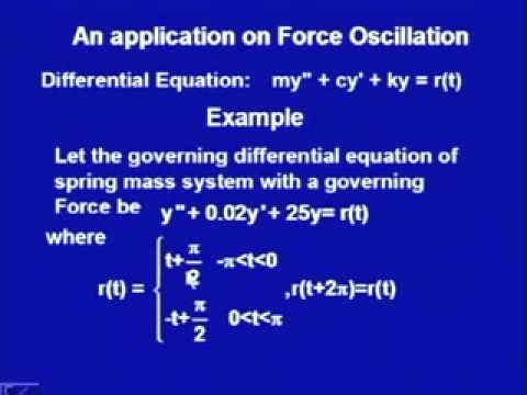 Mod-2 Lec-13 Convergence of the Fourier Series