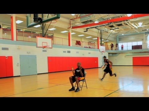 How to Play Basketball: Basketball Tricks / Dunking over Obstacles