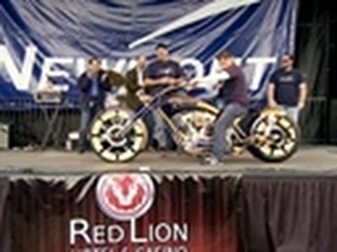 Newmont Mining Bike Reveal | American Chopper