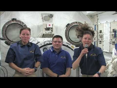 Georgia Students Quiz Space Station Residents