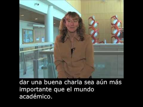 Susan McConnell (Stanford): The Importance of Giving a Good Talk with Spanish Subtitles