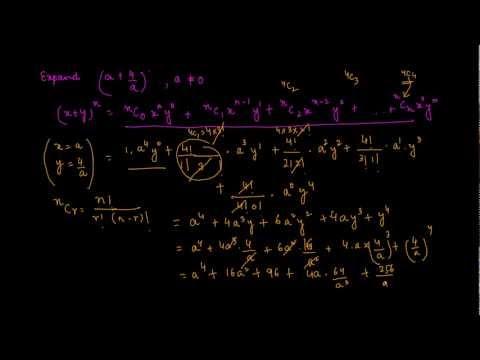 1104. Binomial Theorem Problem 1