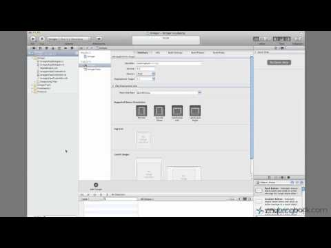 Learn Xcode 4 Tutorial iOS iPad iPhone 1.2  Xcode Overview Basics