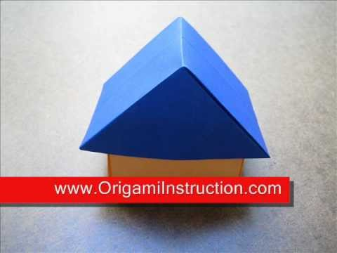 How to Fold Origami House - OrigamiInstruction.com