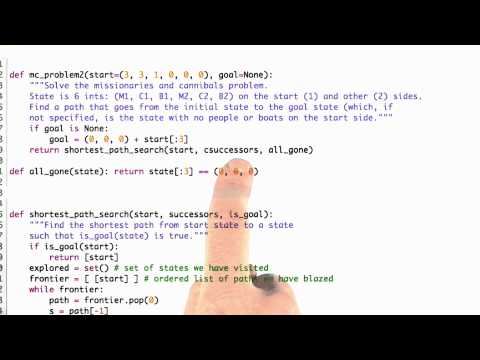 Cleaning up mc problem Solution - CS212 Unit 4 - Udacity