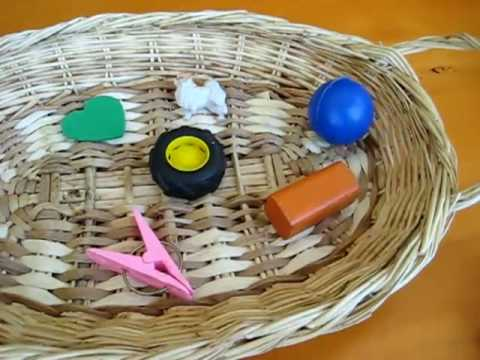 Preschool - Language. Rhyming basket