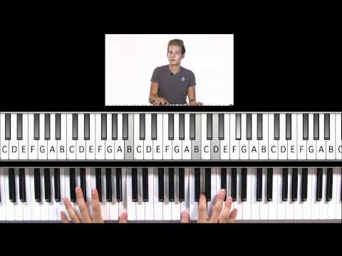 """How to Play """"A Hard Days Night"""" by The Beatles on Piano"""