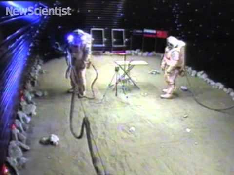 Virtual Mars landing